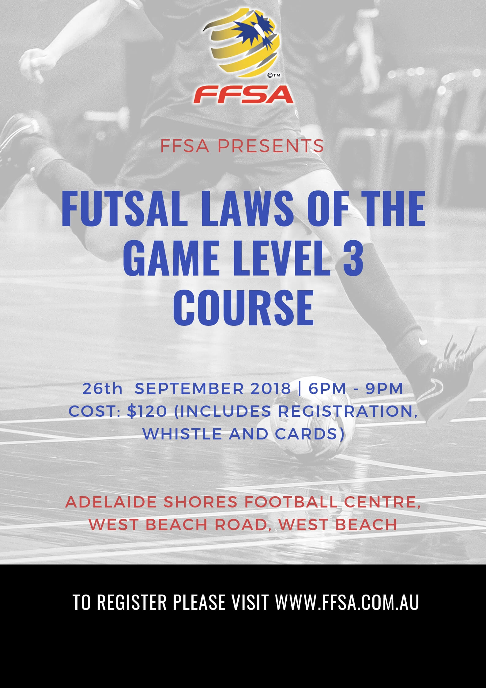 Futsal Referee Course 2018
