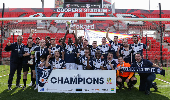 Adelaide Victory 2018 State League 2 Champions