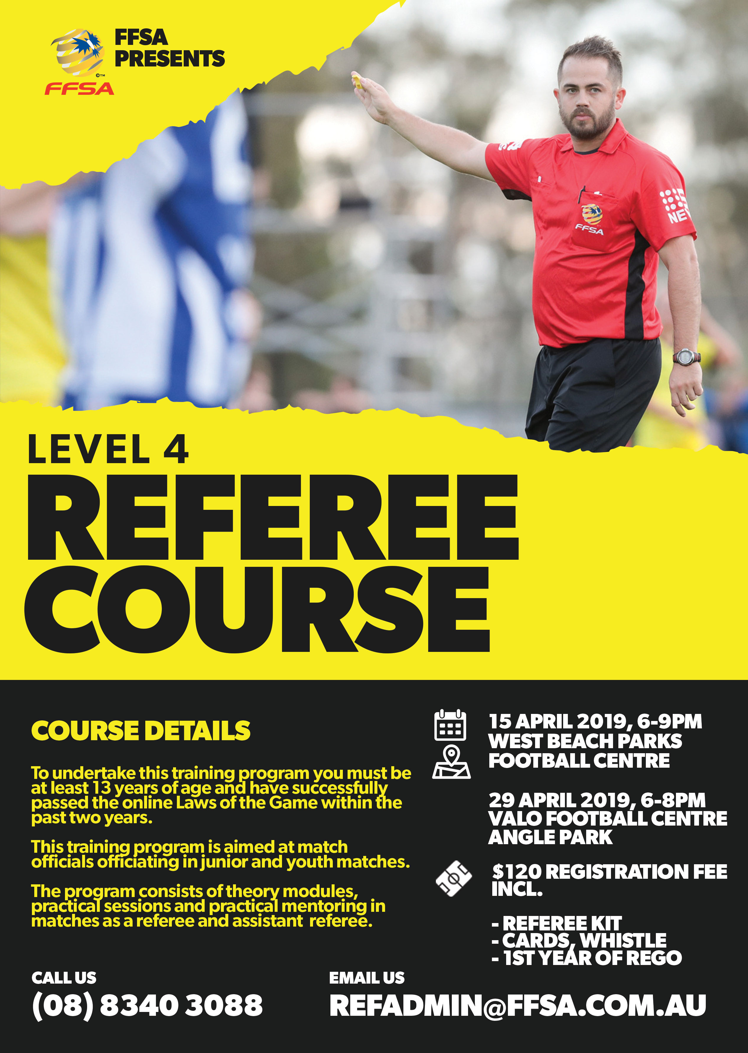 Level 4 Referee Course