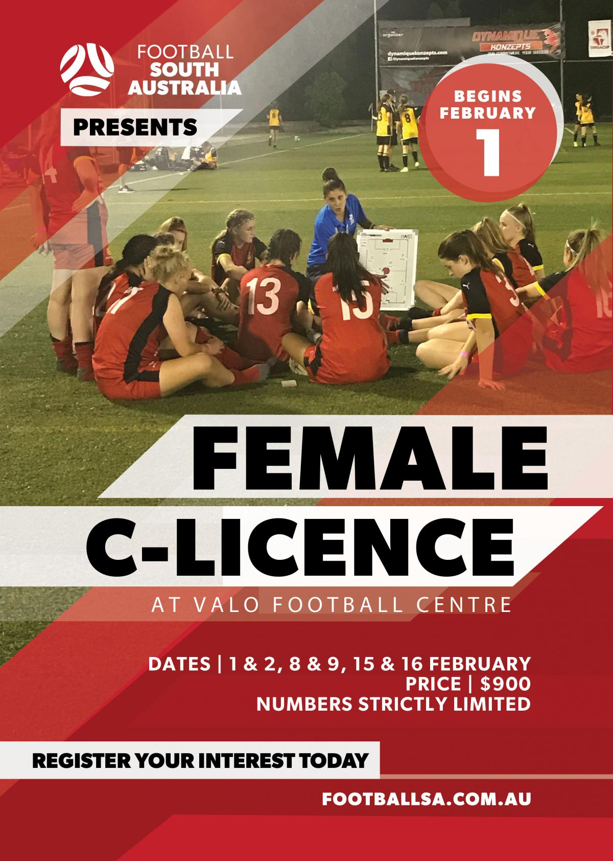 Female C Licence