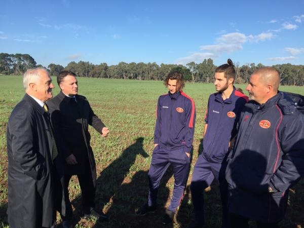 Funding Announcement - Mount Barker - Malcolm Turnbull