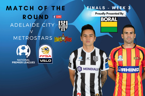 NPL SA Finals Series Week 3 Preliminary Final - Proudly presented by Boral