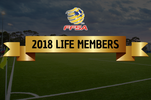 FFSA Life Members Inducted at 2018 Grand Finals