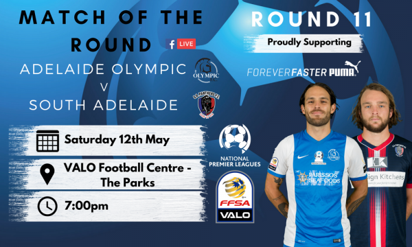 NPL SA Round 11 - Proudly presented by Puma