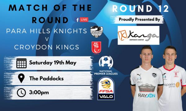 NPL SA Round 12 - Proudly presented by Kanga Coachlines