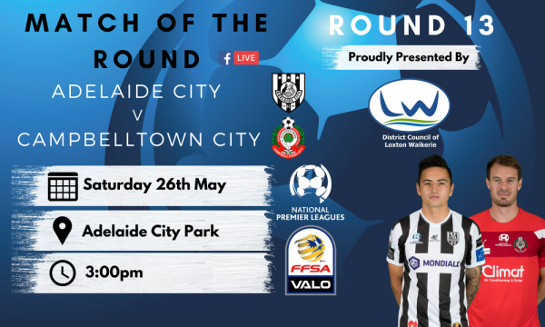 NPL SA Round 13 - Proudly presented by District Council of Loxton Waikerie