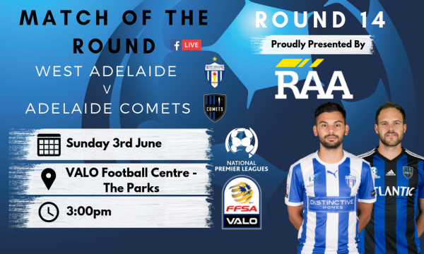 NPL SA Round 14 - Proudly presented by RAA