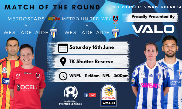 NPL SA Round 15 - Proudly presented by Valo