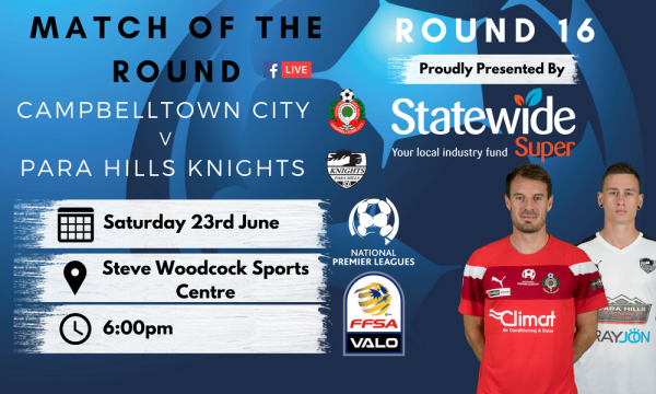 NPL SA Round 16 - Proudly presented by Statewide Super