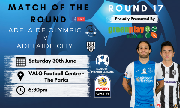 NPL SA Round 17 - Proudly presented by Greenplay