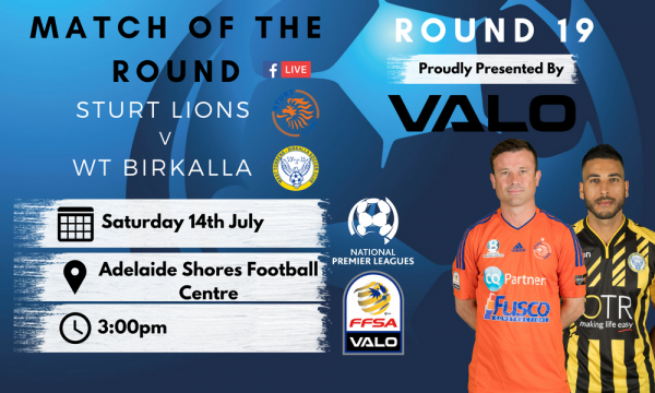 NPL SA Round 19 - Proudly presented by Valo