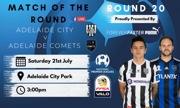NPL SA Round 20 - Proudly presented by Puma