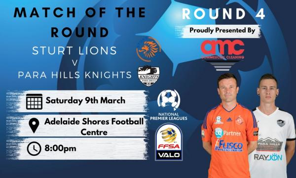 NPL SA Round 4 - Proudly presented by AMC Commercial Cleaning