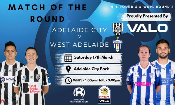 NPL SA Round 5 - Proudly presented by Valo