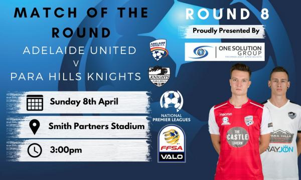 NPL SA Round 8 - Proudly presented by One Solution Group