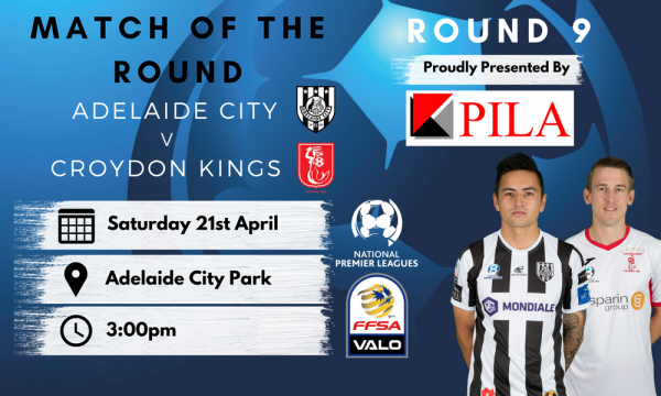 NPL SA Round 9 - Proudly presented by Pila