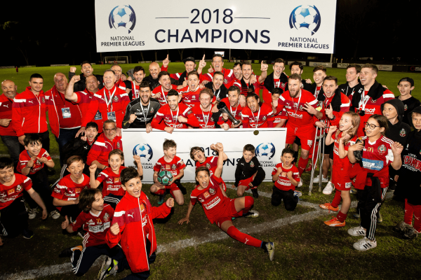 Media Release: Campbelltown City SC crowned 2018 National Premier League Champions
