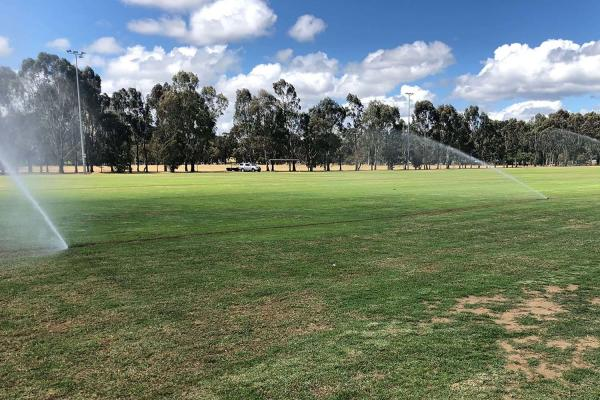 SAWSA Park receives irrigation upgrade