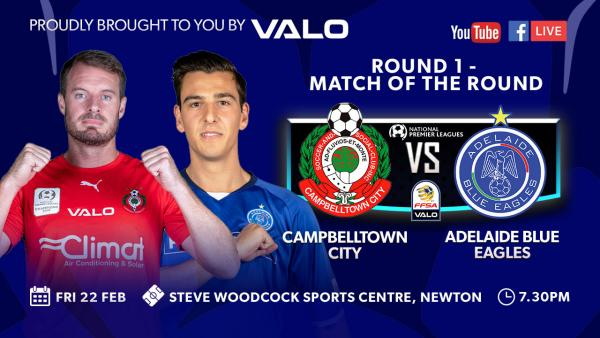 Round 1 - Campbelltown City v Adelaide Blue Eagles