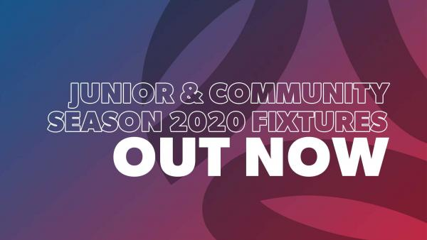 junior & community fixtures