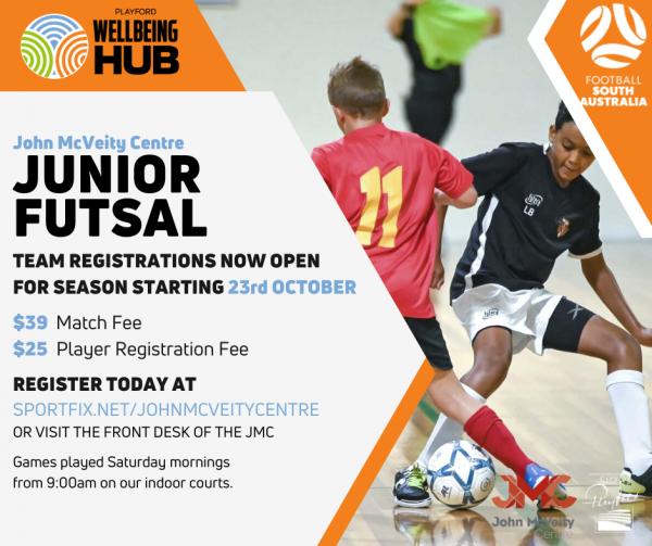 John McVeity 2021 Junior Futsal Season