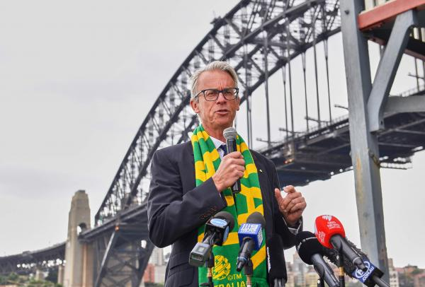 FFA CEO David Gallop gives notice of intention to step down